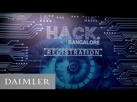 DigitalLife@Daimler: Hack.Bangalore