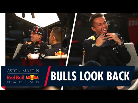 Bulls Look Back | Max Verstappen and Alex Albon discuss the 2019 season