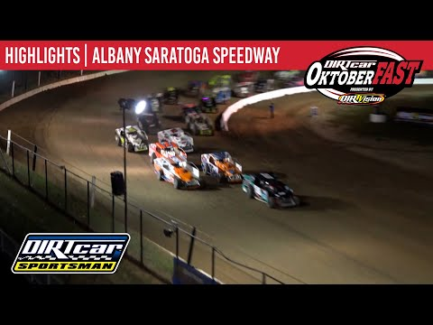 DIRTcar Sportsman Modifieds Albany Saratoga Speedway October 6, 2020 | HIGHLIGHTS - dirt track racing video image