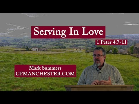 Serving In Love  Mark Summers