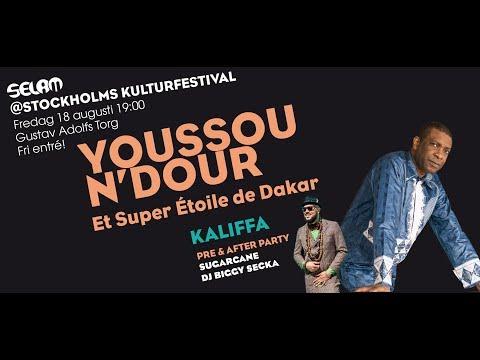Selam@Stockholms Kulturfestival 2017: Youssou N'Dour & Kaliffa Pre Trailer!