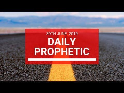 Daily Prophetic 30 June 2019 Word 2