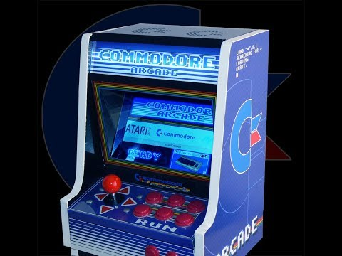 ¡La única en el mundo! Commodore Arcade (Bartop / Recreativa)