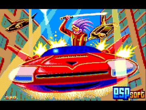 RETROJuegos Homebrew - Red Sunset © 2020 ESP Soft Amstrad 128K