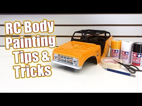 Simple RC Body Painting Tips & Tricks! - How To: Spray Paint The Pro-Line Ford Bronco | RC Driver