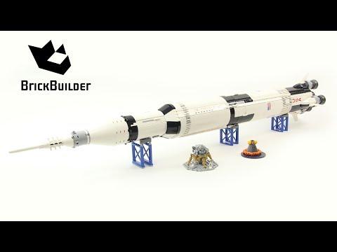 Lego Ideas 21309 NASA Apollo Saturn V - Lego Speed Build - UCWrYq18mdNMkU44WcWGqNtw