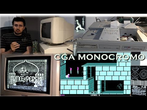 La Alcoba del CGA - Capítulo 8 - CGA monocromo (parte 1) ~ Prince of Persia