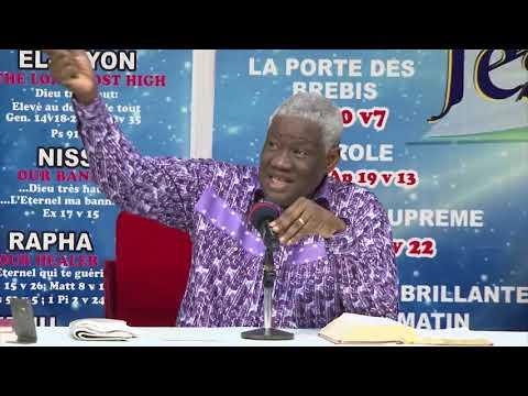 Dimanche 21 10 2018 Dr Mamadou KARAMBIRI