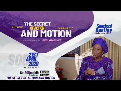 Dr Becky Paul-Enenche - SEEDS OF DESTINY  TUESDAY APRIL 21, 2020