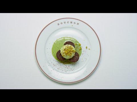 dineL.A. Restaurant Week - California Avocado Ice Cream By David Hands of Bouchon