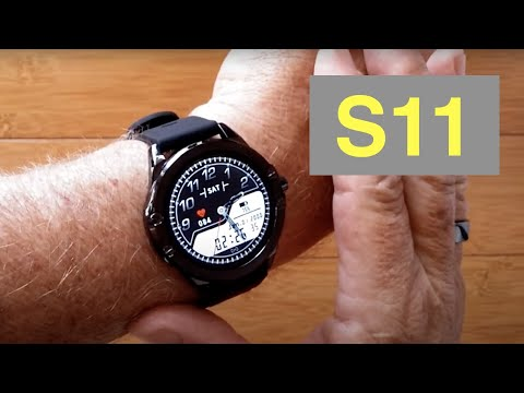 SENBONO S11 IP68 Waterproof Multi-Function Blood Pressure Sports Smartwatch: Unboxing and 1st Look
