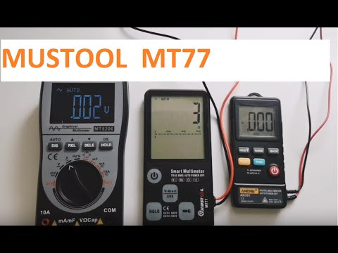 MUSTOOL MT77 Large Screen Smart Multimeter - Hands on video. - UCI2zrP0hH9_JU8OS9vgrcbQ
