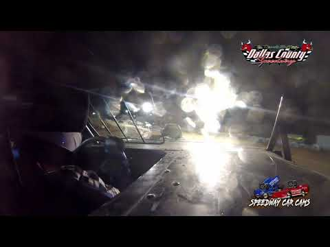 #18 Nolan NeSmith - Mini Stock - 04-30-2021 Dallas County Speedway - In Car Camera - dirt track racing video image