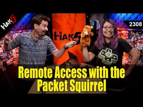 Packet Squirrel Remote Access and OpenVPN Client Tunneling! - Hak5 2308