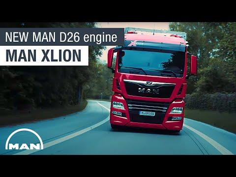 MAN XLION I The new MAN D26 engine