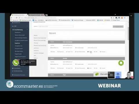 Automatización de marketing online - Webinar Sales Manago