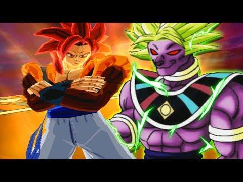 BROLY'S ULTIMATE FUSION?! Gogeta Vs Beerus And Broly Fusion | Dragon Ball Z Budokai Tenkaichi 3