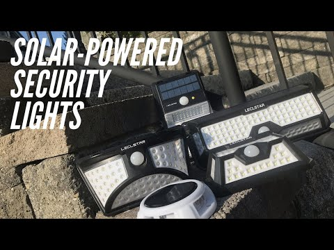 Solar-Powered Motion-Sensor Security Lights: Budget-Friendly from Amazon, Give Your Yard Some Lumens
