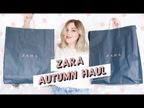 ZARA HAUL + TRY ON | AUTUMN TRANSITIONAL HAUL | I Covet Thee