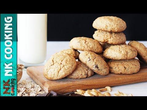 Американское Овсяное Печенье с Шоколадом и Арахисом ? Рецепты NK cooking