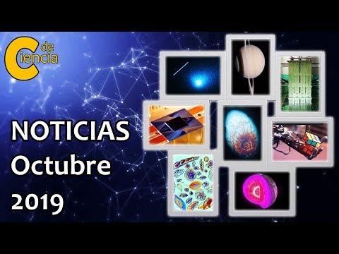 Noticias científicas octubre 2019