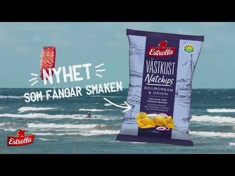 Västkust Nätchips som fångar smaken! (6s)