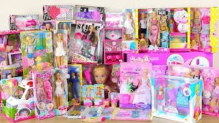 Huge Barbie Doll Toys Unboxing -Beauty salon Store, Ballerina Set, Barbie Doll Dress up Toy