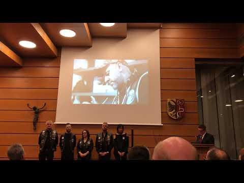 Ehrung der Barber Angels um Claus Niedermaier durch das Landratsamt Biberach am 5. Dezember 2019