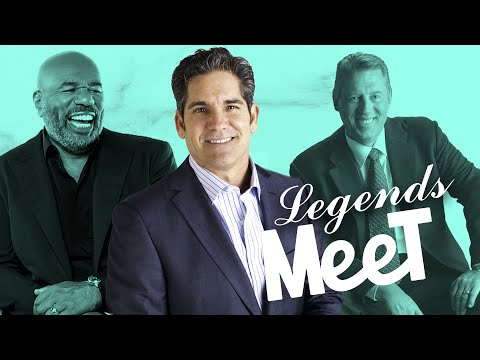 3 Legends Meet for the First Time - Grant Cardone photo