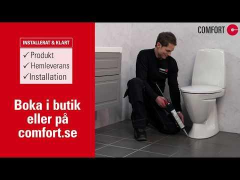 Comfort Tjänst: Så hjälper Comfort dig att installera din nya WC-stol