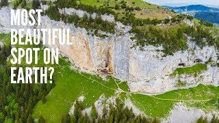 Aescher Wildkirchli, Switzerland 4k - A place to see before you die | DJI Mavic 2 Pro