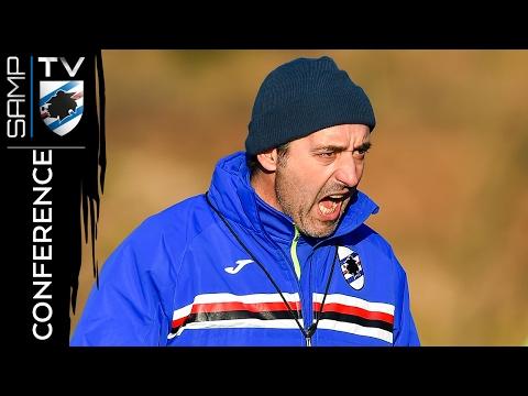 Sampdoria-Bologna: la conferenza stampa di Giampaolo