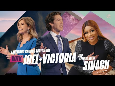 Joel Osteen and Sinach LIVE   Lakewood Church Service  Sunday 11am