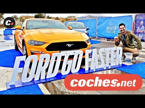Ford Go Faster: Especialistas de cine por un día | Focus RS, Fiesta ST, Mustang GT V8 | coches.net