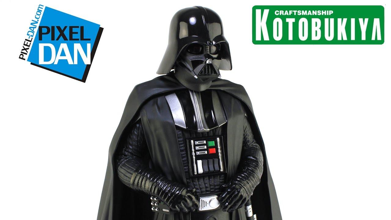 Star Wars Darth Vader A New Hope Kotobukiya Artfx 17 Scale