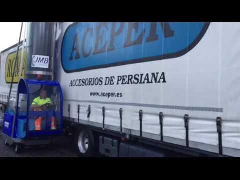 Monocepillo Híbrido de Camiones en Orense