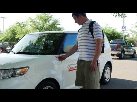 How to use UhaulCarShare®