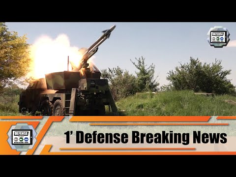 Serbia army test firing RLN-IC FM-2 surface-to-air missiles industry 1' defense breaking news