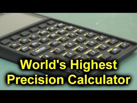 EEVblog #1159 - World's Most Precise Pocket Calculator - UC2DjFE7Xf11URZqWBigcVOQ
