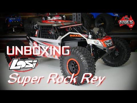 Unboxing: Losi Super Rock Rey - UCOfR0NE5V7IHhMABstt11kA