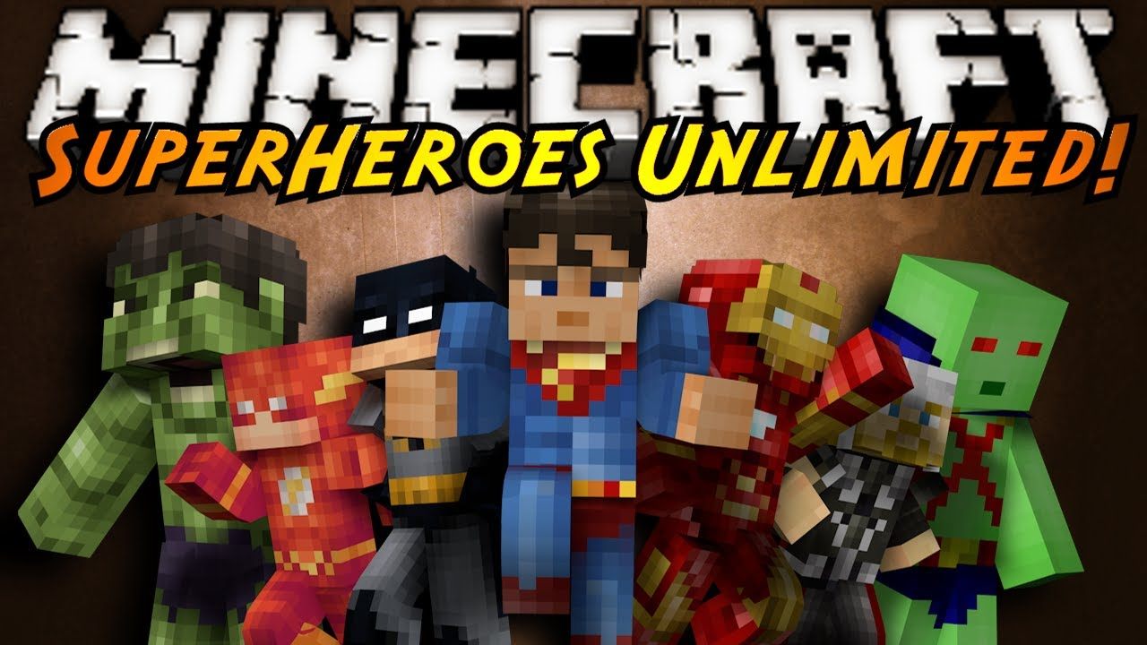 Minecraft mod unlimited heroes