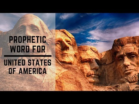 Prophetic Word for USA 2019