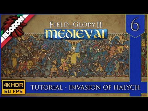 Field of Glory II: Medieval ⚔️🏹🛡️ Gameplay ITA #6 ✔️ Tutorial   Invasion of Halych [4K 60 FPS]