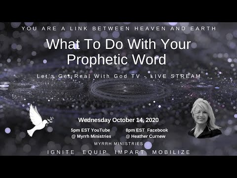 WHAT TO DO WITH YOUR PROPHETIC WORD