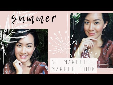GRWM Summer No Makeup Makeup Look | ANN LE