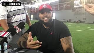 Haskell Garrett: Ohio State defensive lineman talks Buckeyes 2019 fall camp