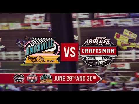 World of Outlaws Brownells Big Guns Bash! - dirt track racing video image