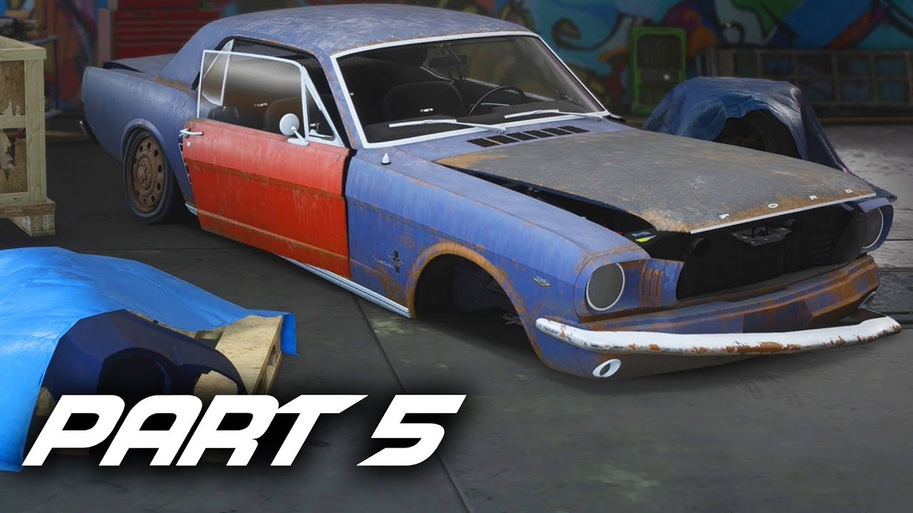 Need for speed payback gameplay walkthrough part 5 ford mustang 1965 derelict guide all parts impresspages lt