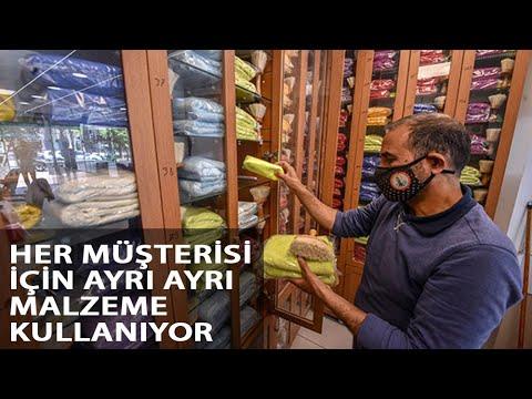 Berberden Her Müşteriye Özel Dolap
