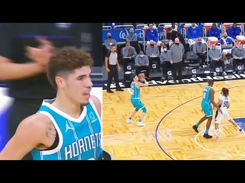 LaMelo Ball IMPRESSES Dwyane Wade After Dropping 18 Points vs Magic! Hornets vs Magic